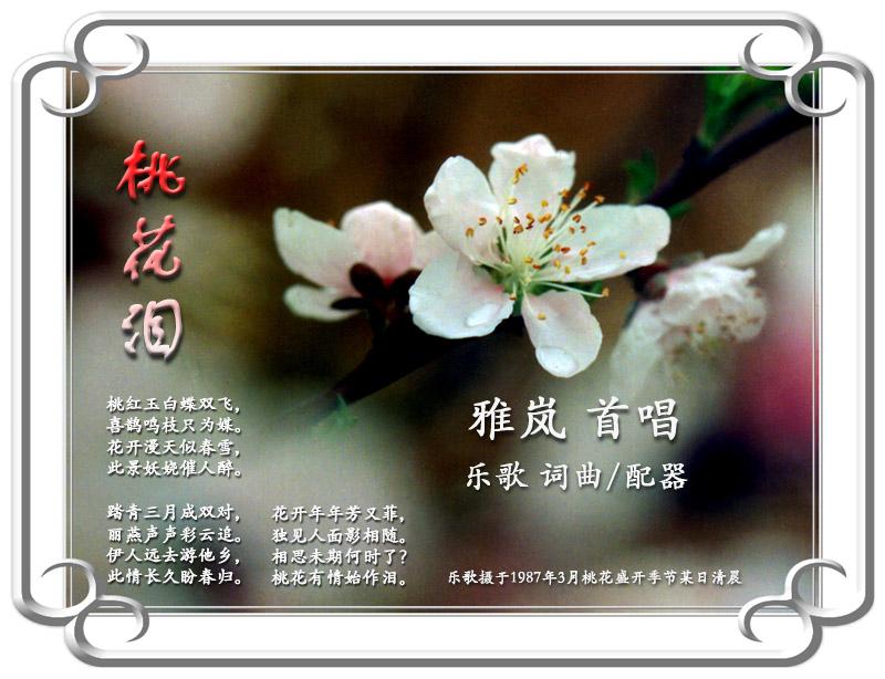 桃花谣钢琴伴奏谱